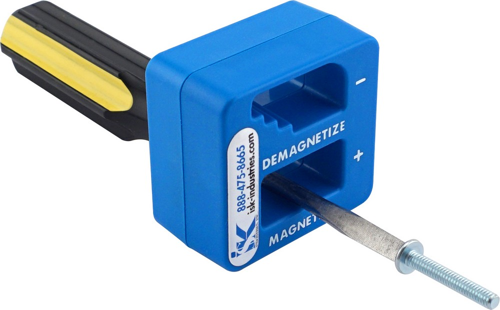 To Magnetize or Demagnetize? One Handy Tool does Both!